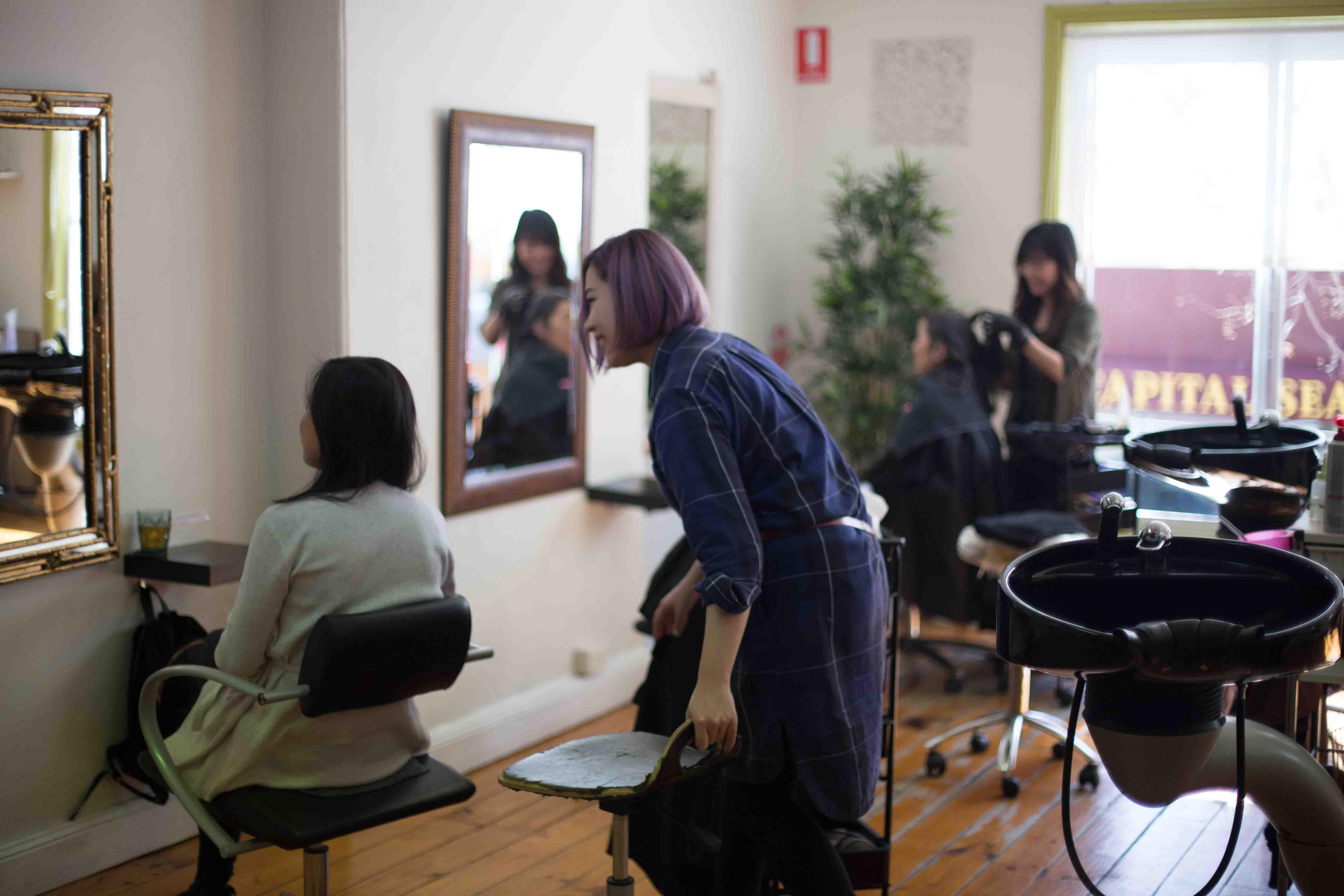 ワーホリ 日系美容室 英語 日本人美容師 海外就職 美容師