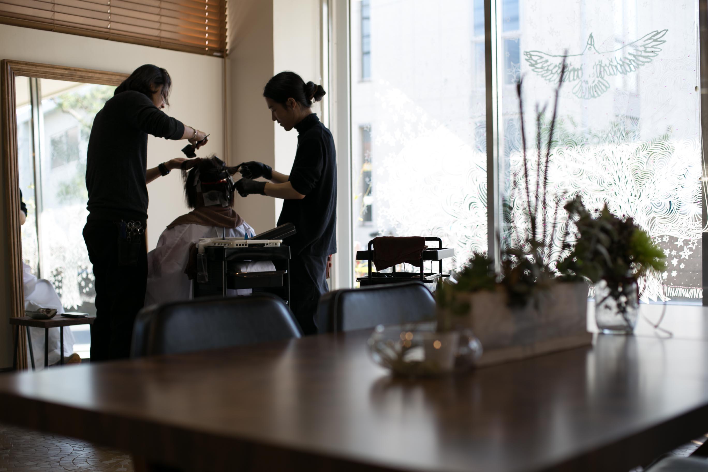 鎌倉 材木座海岸 美容室 double カフカ kafka スタイリスト募集 中途